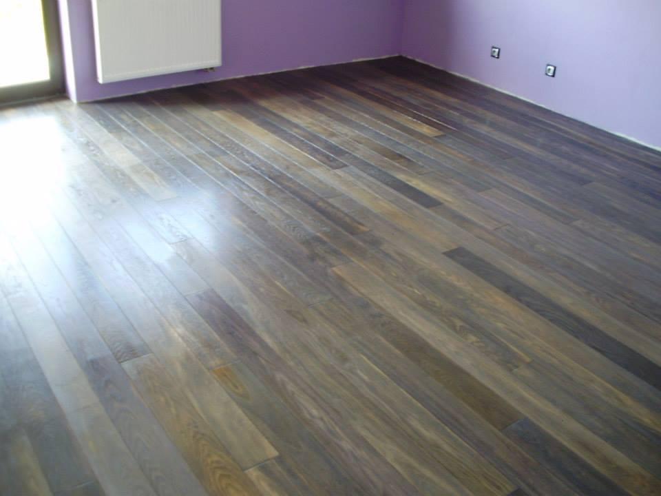 Exclusive floors dřevěná podlaha Dub eben rustik