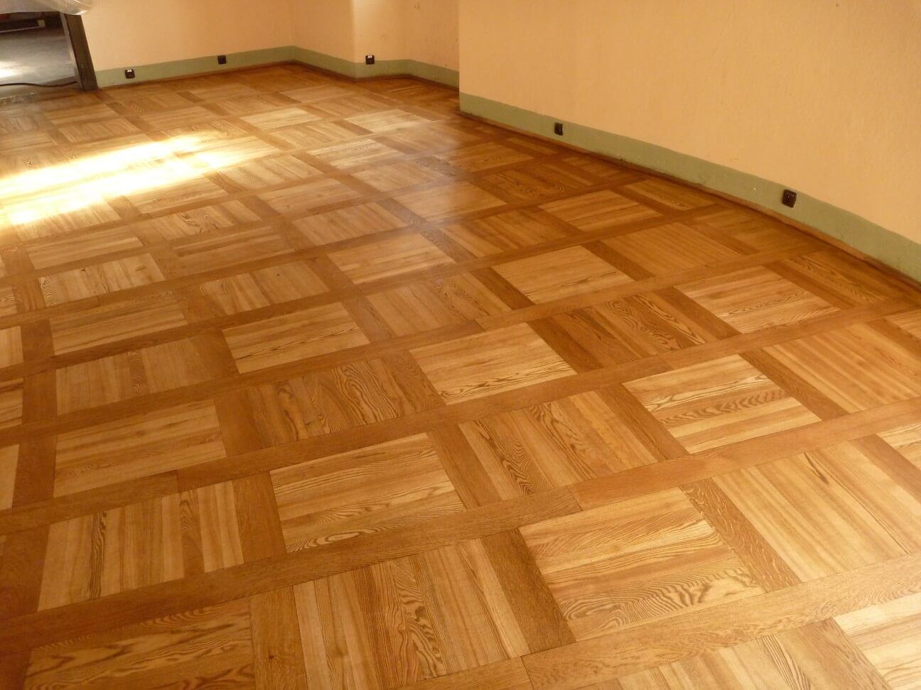 Exclusive floors renovace na hradě Loket Dub hnědý