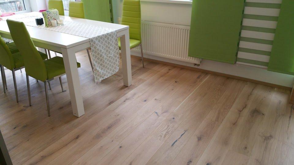 Dřevěná podlaha Dub světlý rustik 160mm