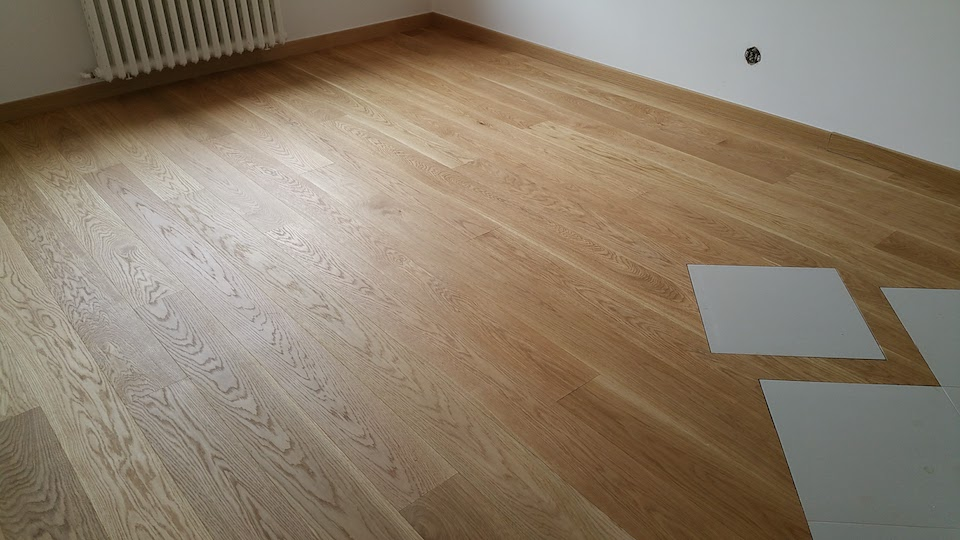 Realizace dřevěná podlaha Dub Elegant bez suků 160mm